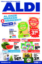 Aldi brochure with new offers (1/30)