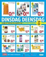 Deen Supermarkt brochure with new offers (20/20)