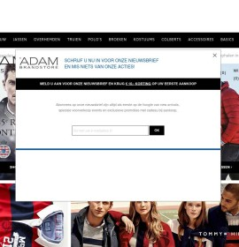 Adam Menswear – Fashion & clothing stores in the Netherlands, Leidschendam